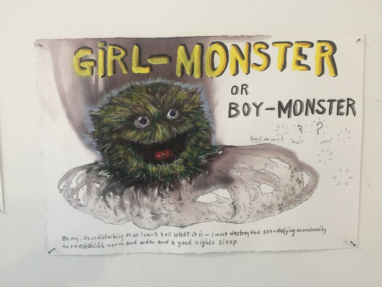 Artwork from the Gay Museum