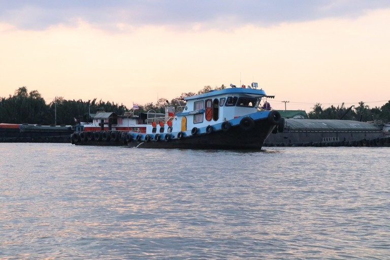 The ferry to Bang Krachao