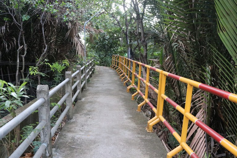 The narrow paths of Bang Krachao Courtesy of Kelly Iverson