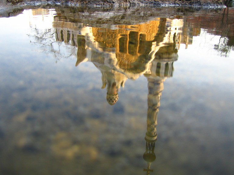 Reflection of the Park Güell