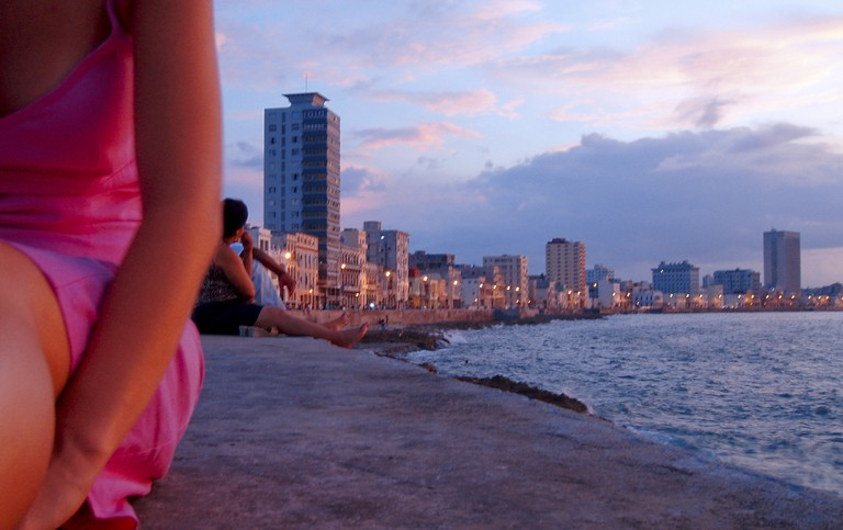 The Malecón is a great place to enjoy the sunset in Havana