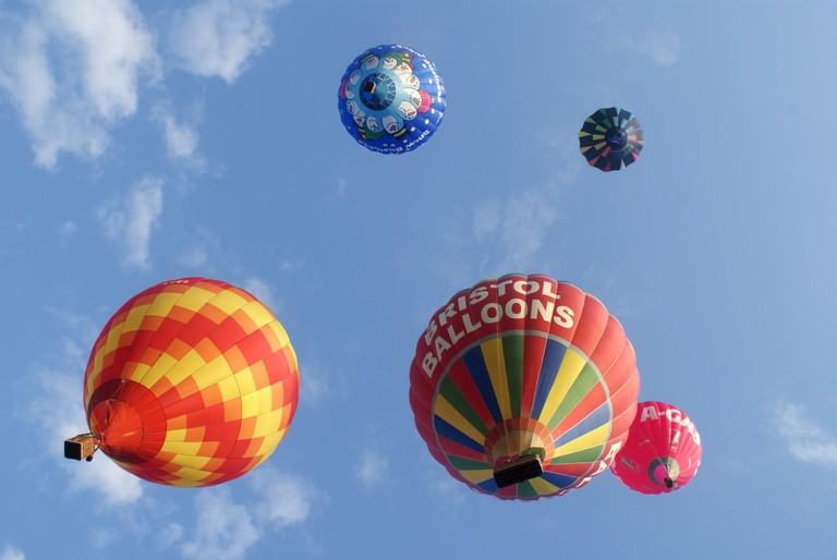 Bristol Balloon Fiesta|©Andy Powell/Flickr