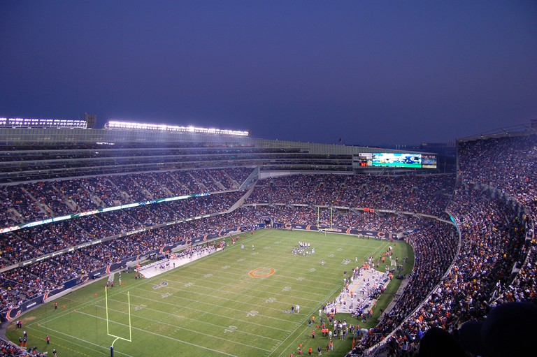 Soldier Field, home of the Chicago Bears | © Bari D/Flickr