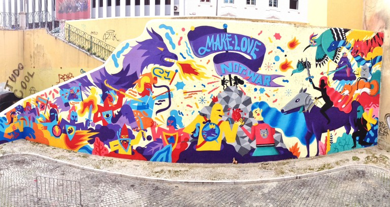 Mural by Kruella d'Enfer