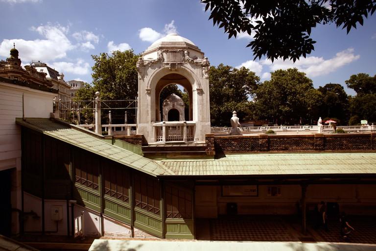 Stadtpark: Underground Station at Stadtpark