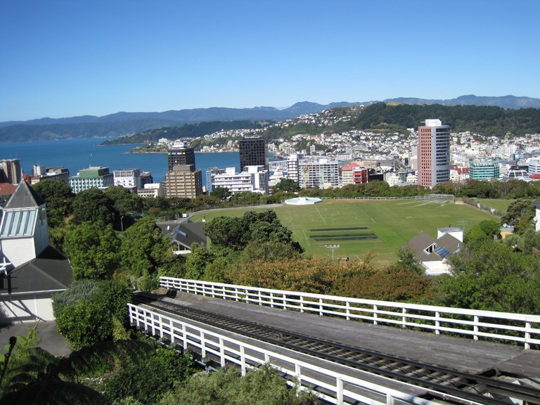 View of Kelburn From The Cable Car Station