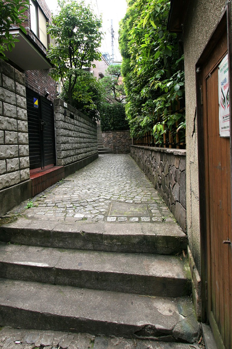 Kagurazaka alleyways
