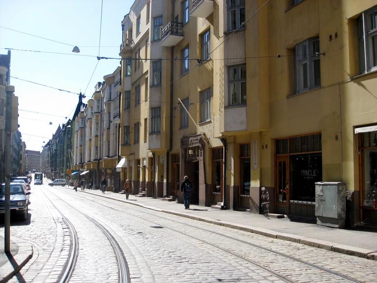 A street in Kallio/ Xuanxu/ Flickr
