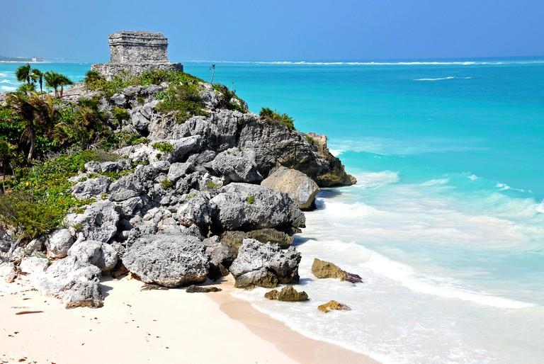 The beaches on the Caribbean coast are gorgeous