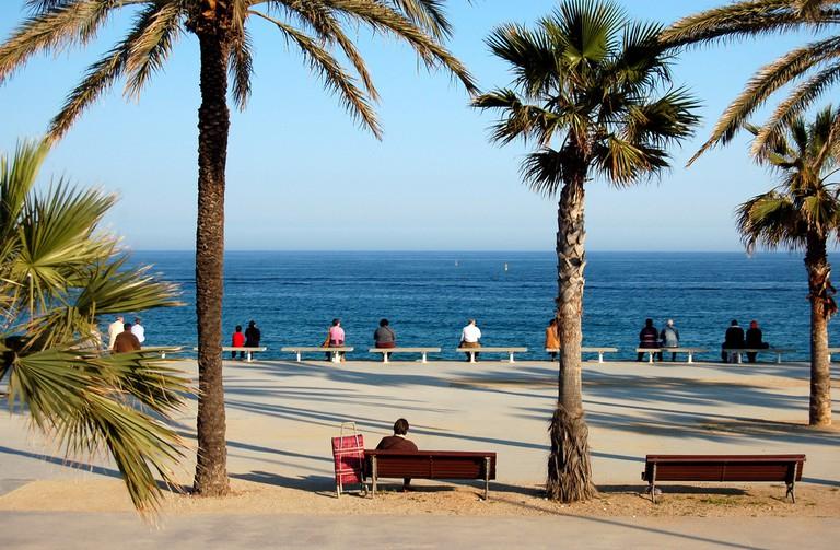 Barcelona's beach © bjaglin