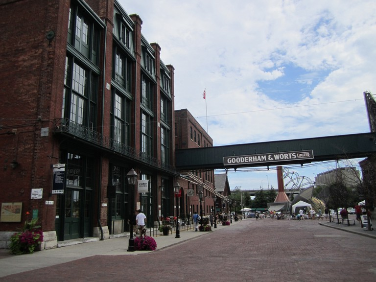 The Distillery Historic District, location of Artfest