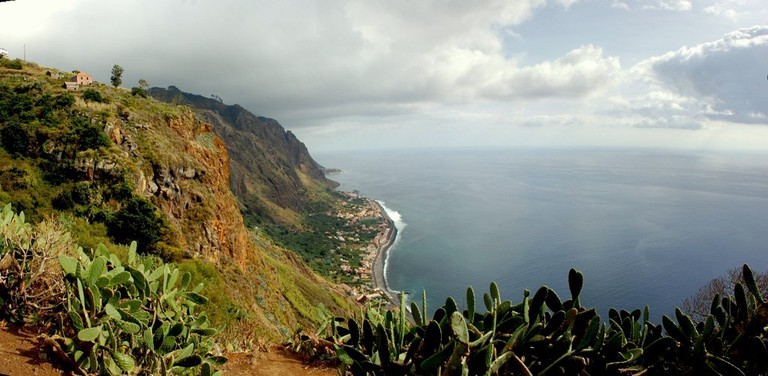 View over Paul do Mar in Madeira