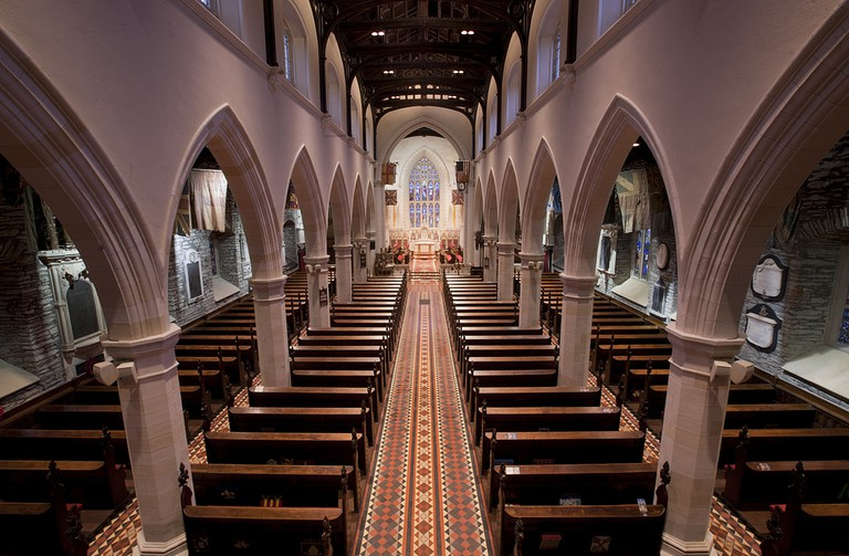 St Columb's Cathedral Interior
