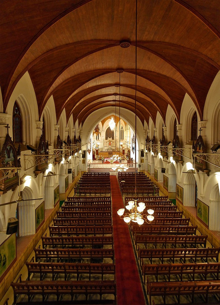 Central Nave of Santhome Basillica