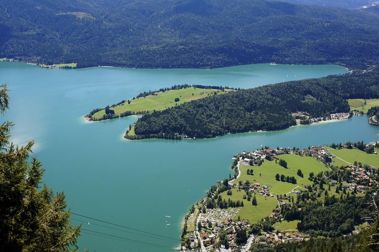 Walchensee Lake