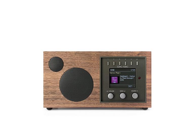 Como Audio Solo Wireless Speaker, Walnut Black, $299