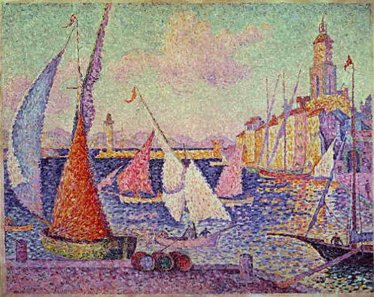 Work by Paul Signac is on show in the Musée Annonciade by the old port