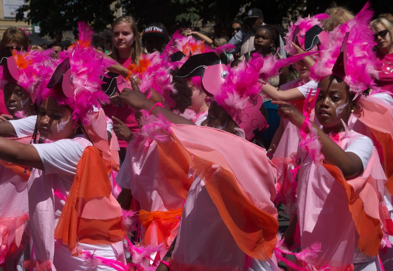 Parade at St Paul's Carnival|©Sam Saunders/Flickr
