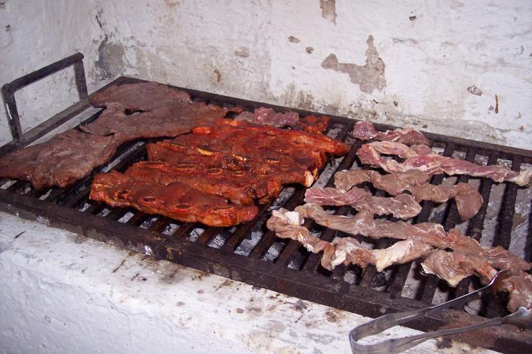Carne asada, Mexico style
