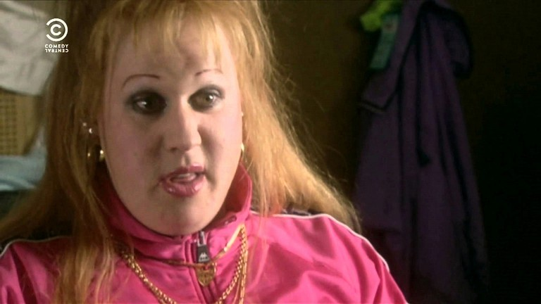 Vicky Pollard from Little Britain, a Brizzle native