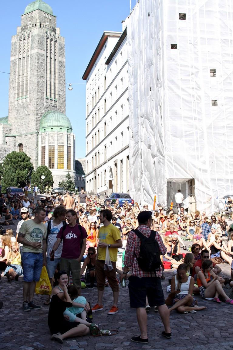 The 2013 Kallio Block Party/ Kallu/ Flickr