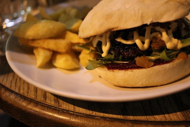 Wellington On A Plate Burger