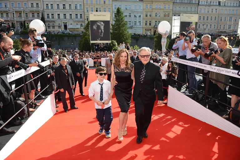 Actor Harvey Keitel at the 50th Karlovy Vary IFF