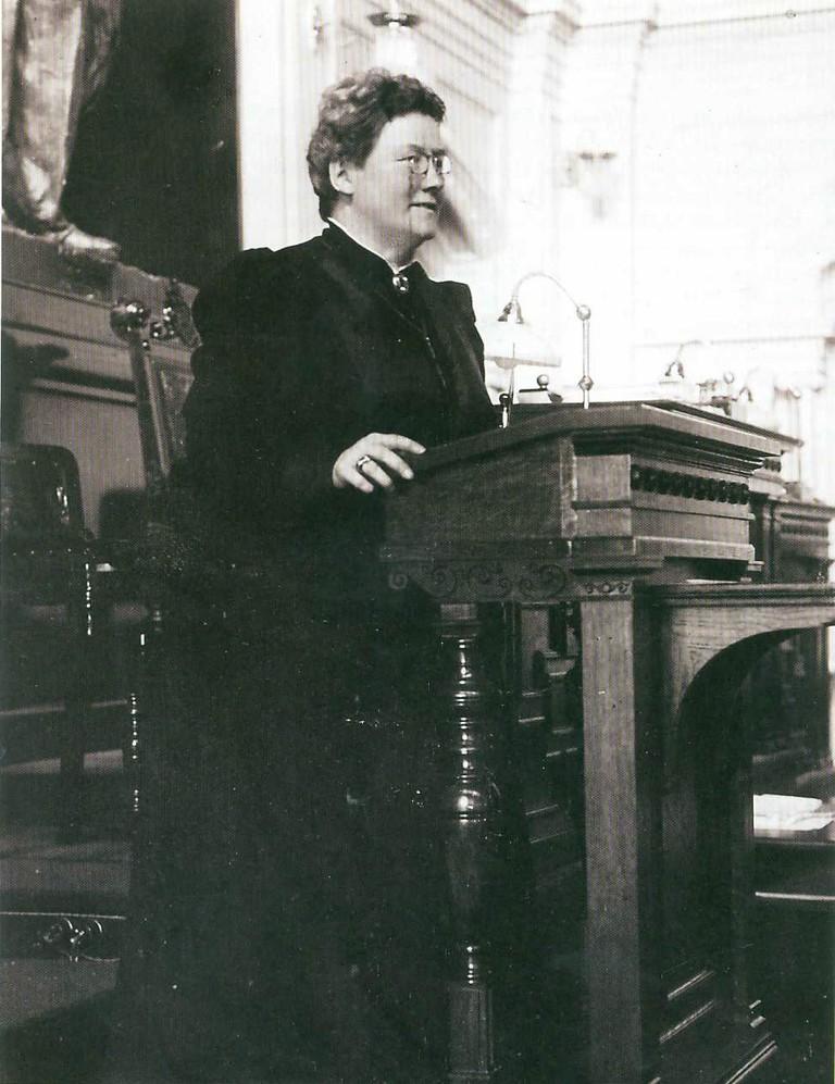 Aleksanda Gripenberg, one of Finland's first female politicians