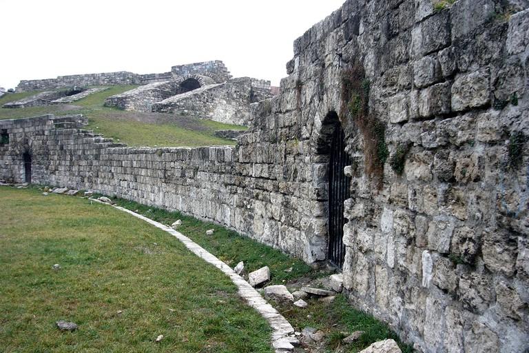 Aquincum amphitheatre in Budapest