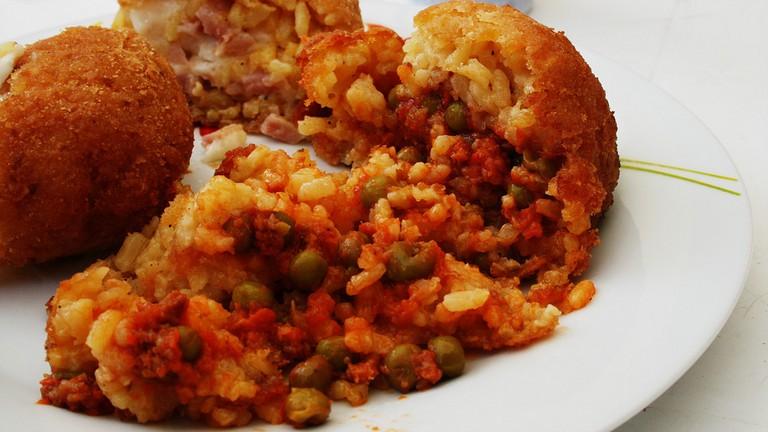 Sicily, arancini, food, italian food