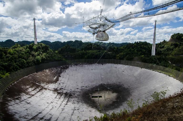 Arecibo Radio Telescope, Radar de Arecibo