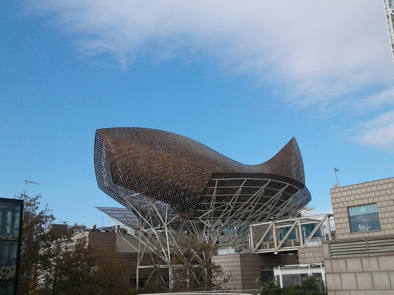 Barcelona, Gehry - Peix d'Or - Photo Serena Basso