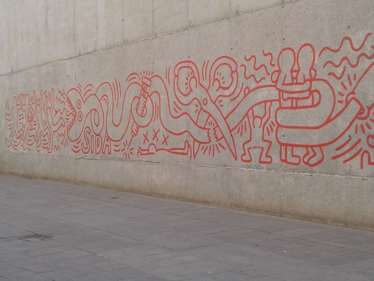 Barcelona, Haring - Mural - Photo Serena Basso