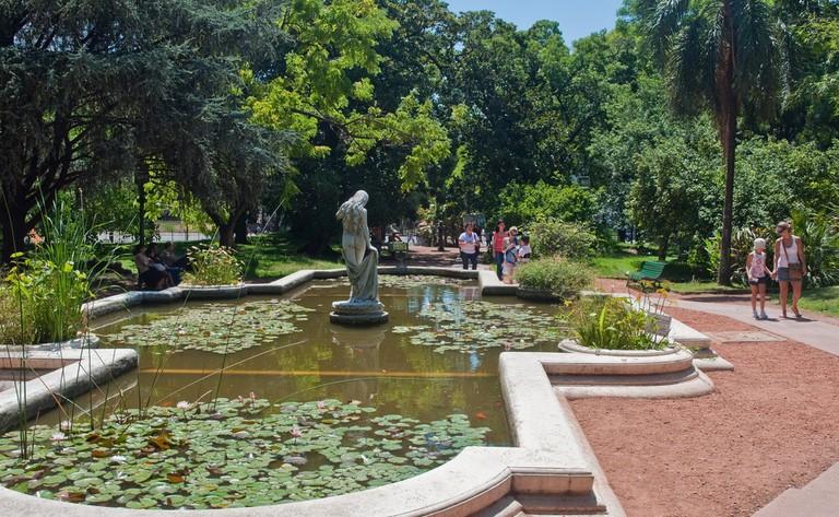 The botanical garden in Buenos Aires, Argentina