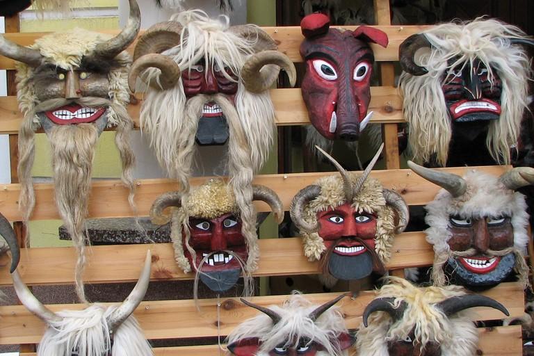 Busojaras masks Hungary
