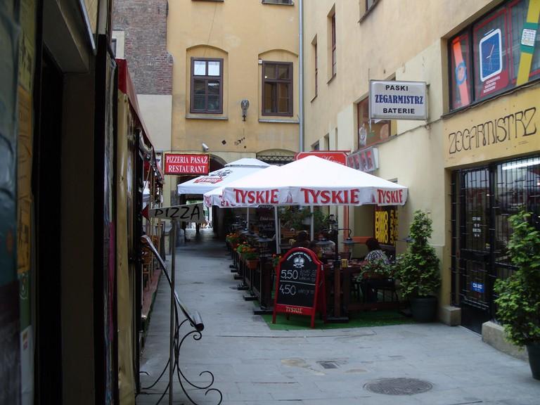Backstreet Café, Krakow