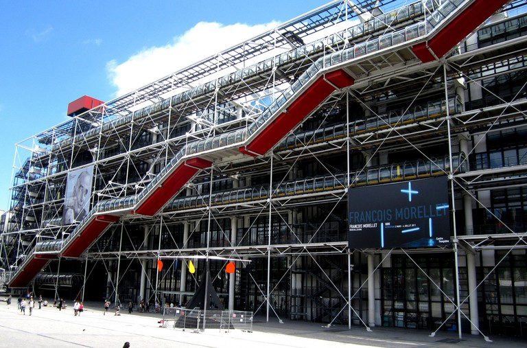 Centre Pompidou │© Oh Paris / Flickr