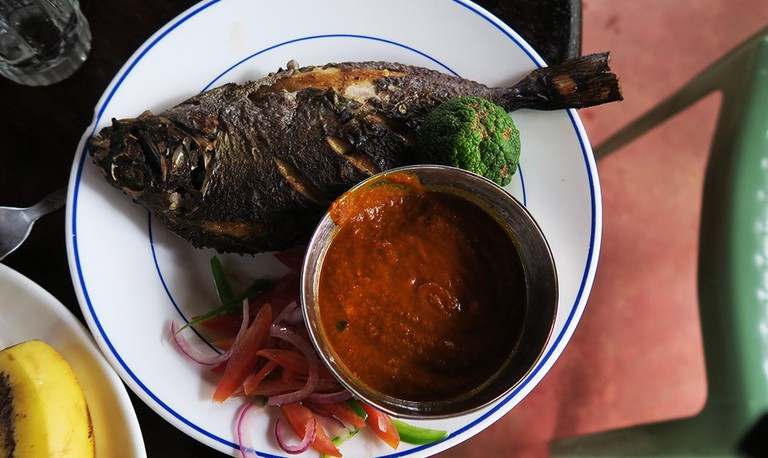 Fried Fish | © Jean Wandimi/ Authors own