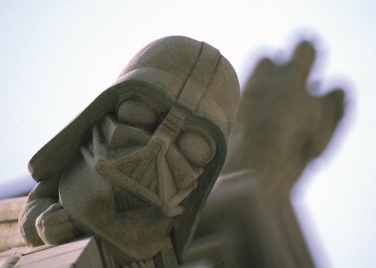 Darth Vadar Grotesque Courtesy Washington National Cathedral