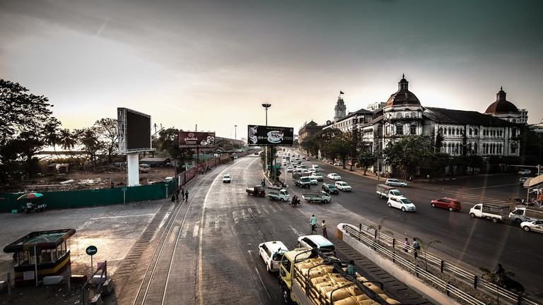 Yangon Downtown | © Tedd/Pixabay