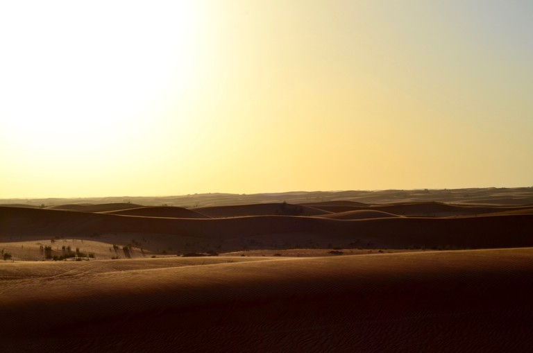 The desert of Dubai