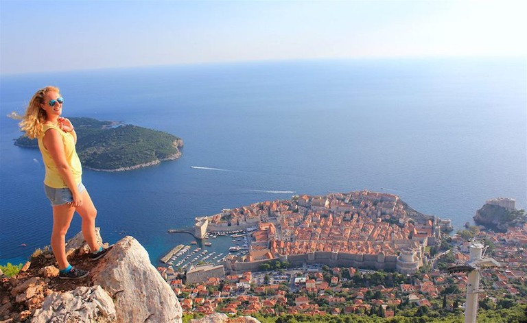Janet Newenham in Dubrovnik | Courtesy of Janet Newenham