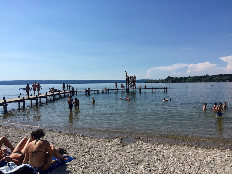 Ammersee lake
