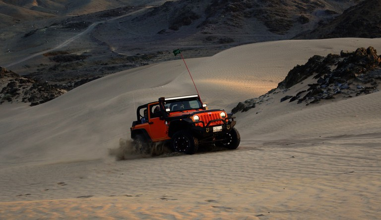 Getting to Jericoacoara requires a special ride, like a dune buggy or specially equipped Jeep