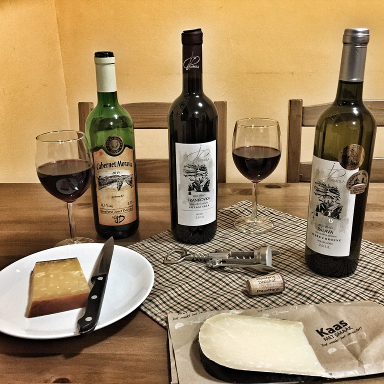 South Moravia Wine and Cheese | © Mateusz Chojnacki TravlrBlog