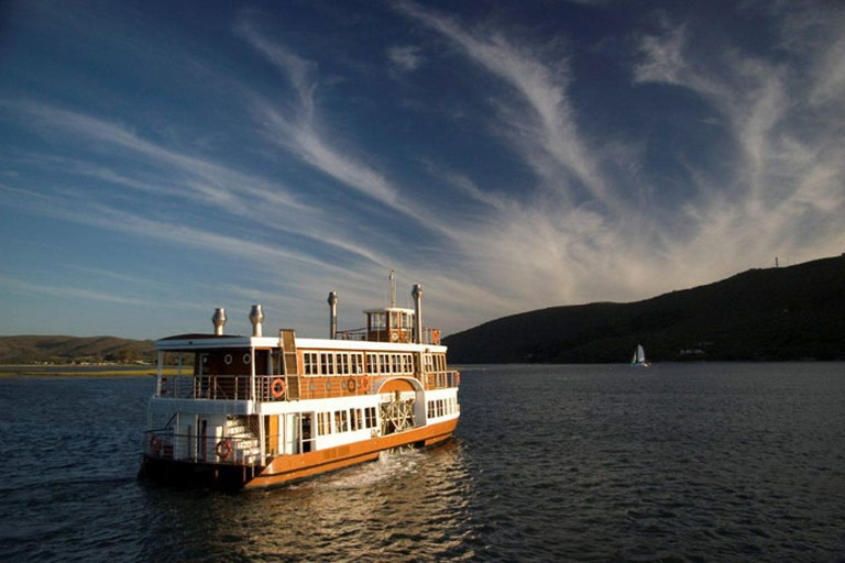 The Paddle Cruiser is South Africa's only paddle-driven vessel