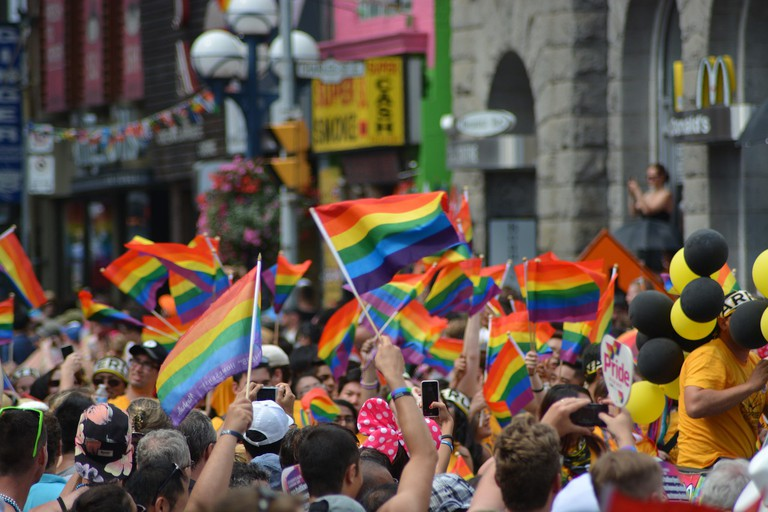 Gay pride march | © naeimasgary/Pixabay