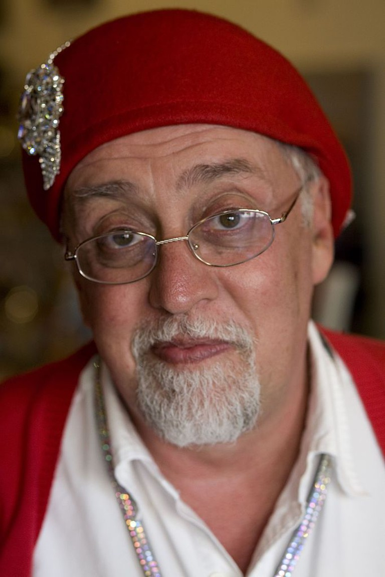 Gilbert Baker during SF Pride 2012 ©Gareth Watkins/Creative Commons