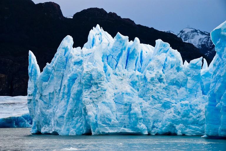 Glacier in Torres del Paine