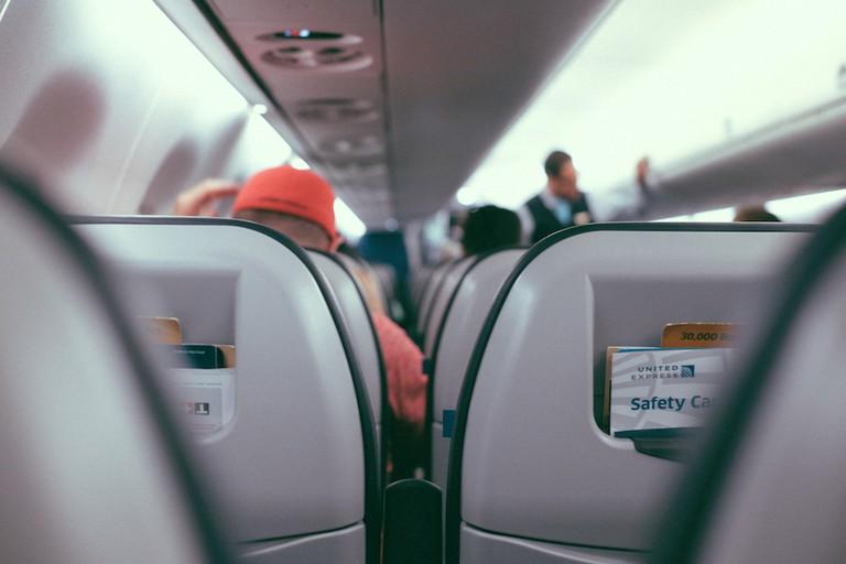 Inflight passengers | © Gus Ruballo